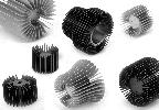 LED heatsink - round cellular KTE R