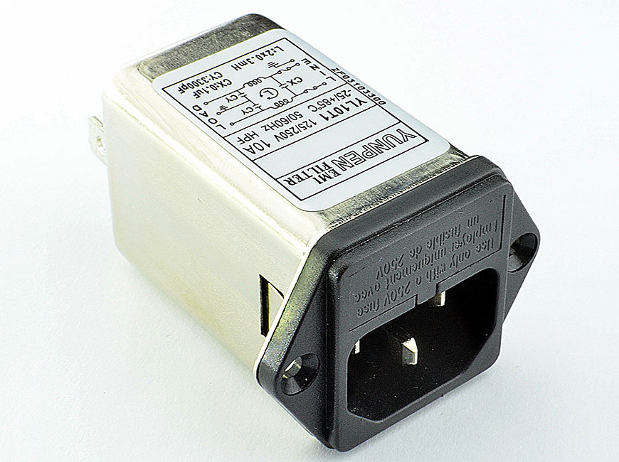 Power Entry Module Filters YL-T1-2F