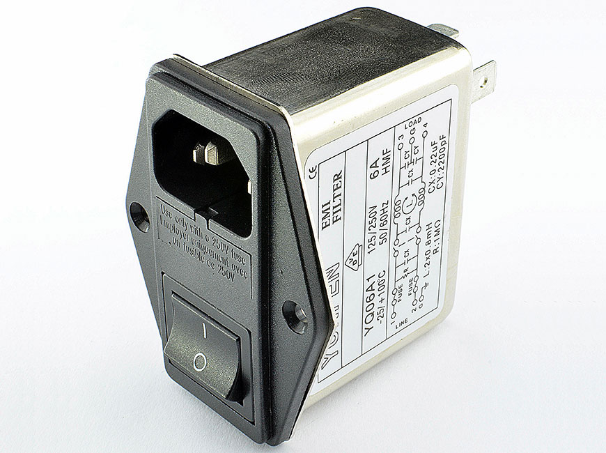 Power Entry Module Filters YQ-A1