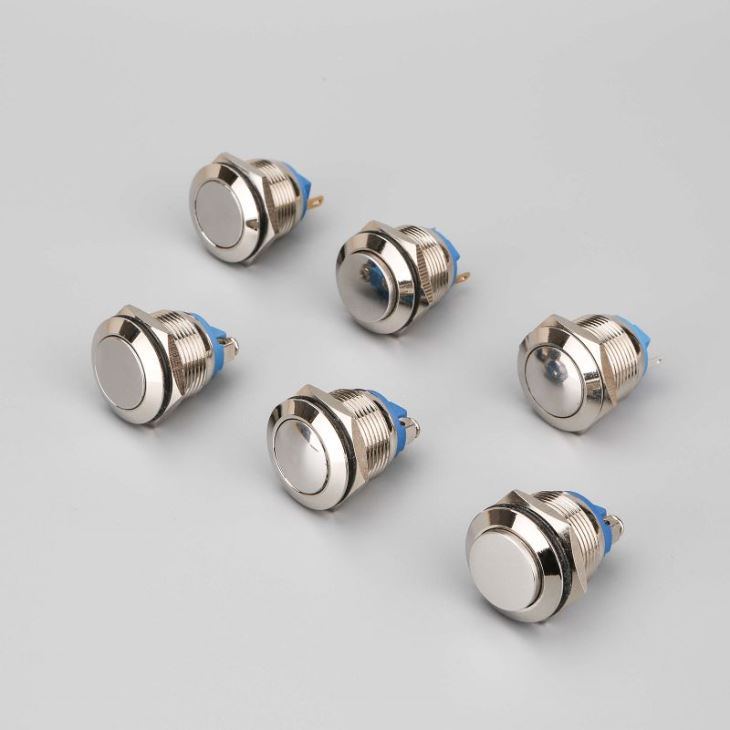 Waterproof Electrical Push Button Switches